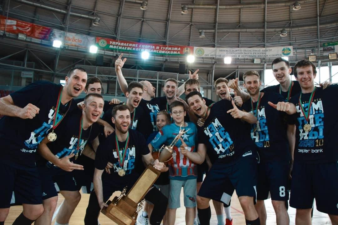 «Цмоки-Минск» — чемпион Беларуси