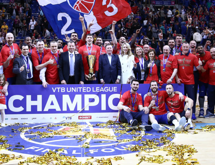 CSKA Aces Final Four Test, Repeats As Champions