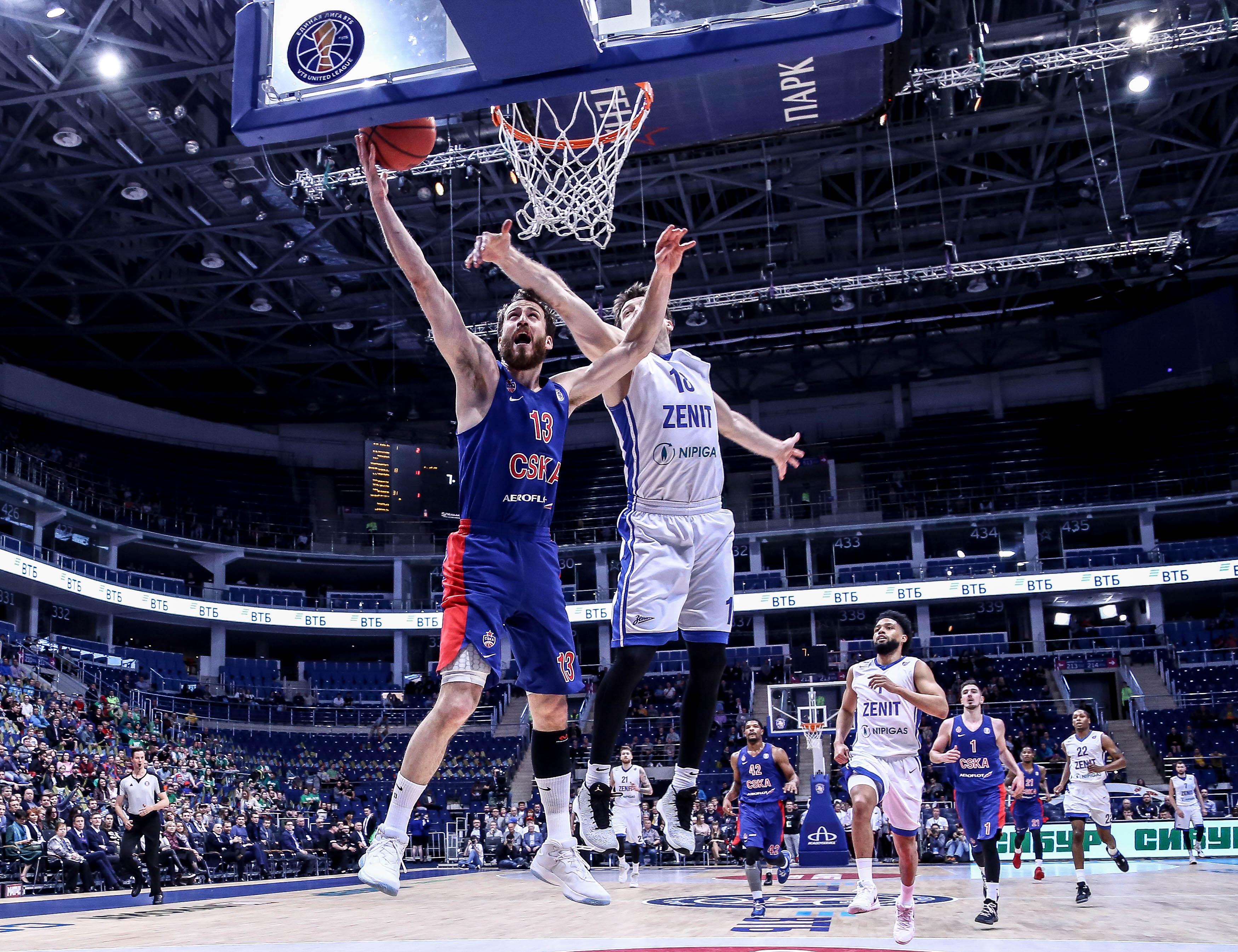 ЦСКА — первый финалист