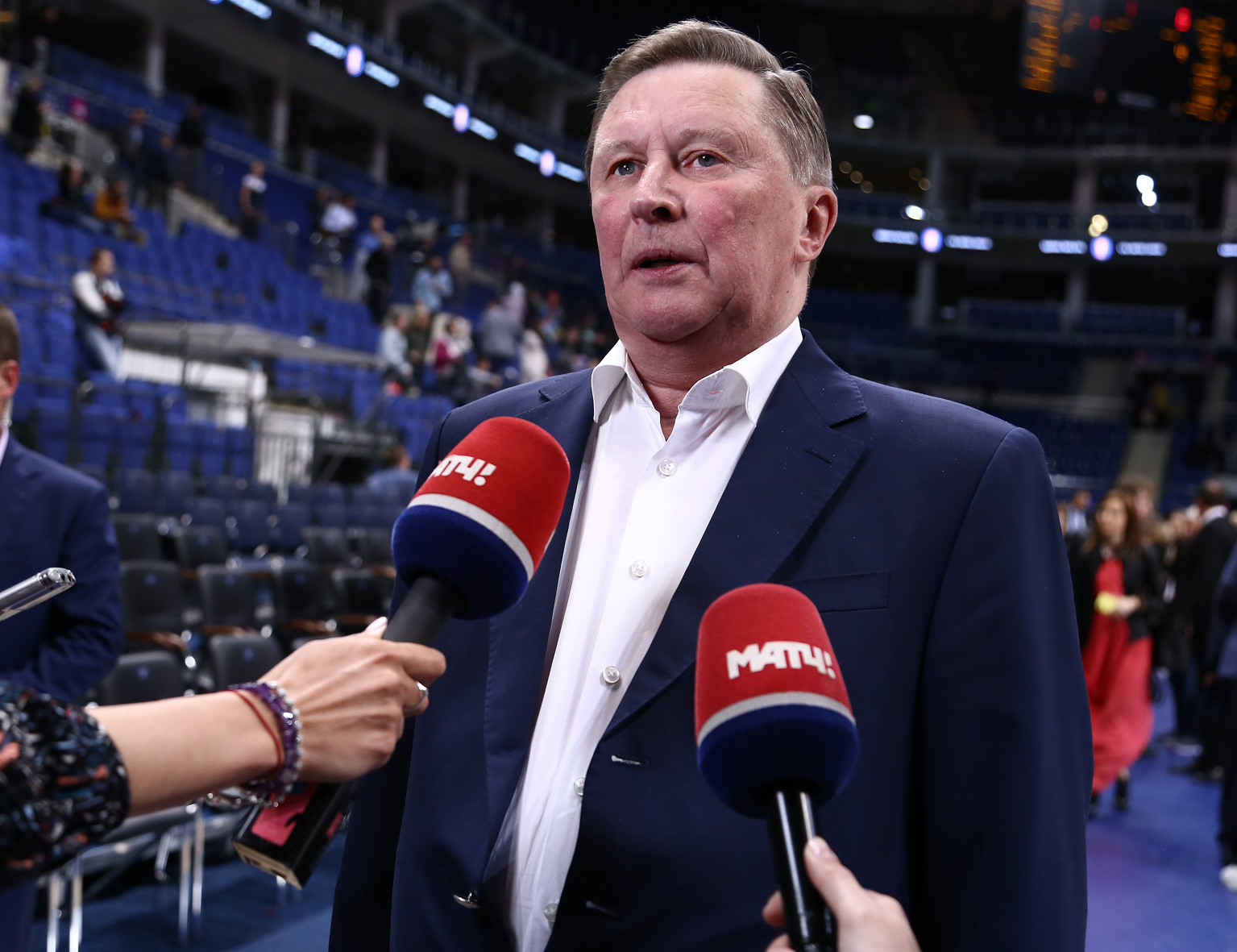 Sergei Ivanov: I Cheer For Great Basketball At The Final Four, Not A Specific Team