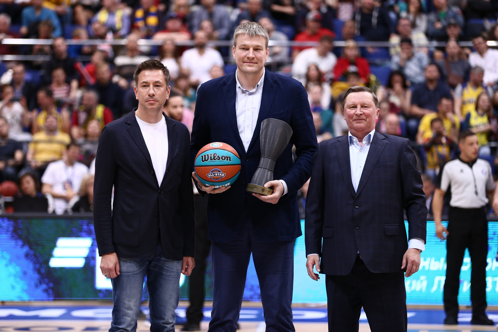 В рамках Финала Четырех Единая Лига ВТБ подвела итоги сезона акции «БАСКЕТБОТЛ»