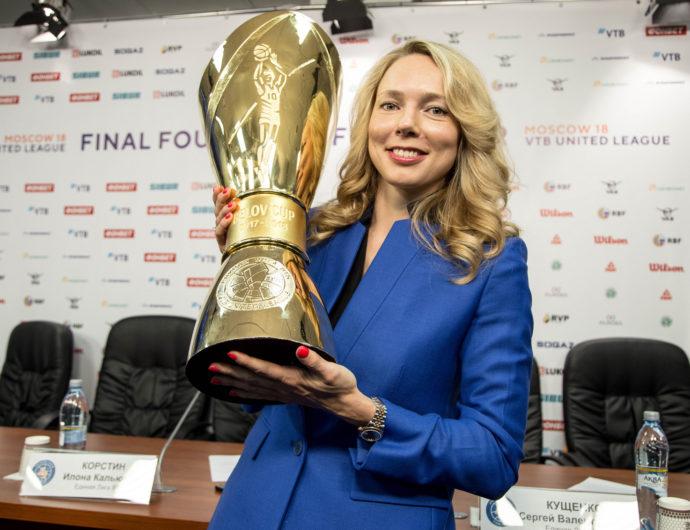 Илона Корстин: «В Лиге ВТБ может появиться новая команда»