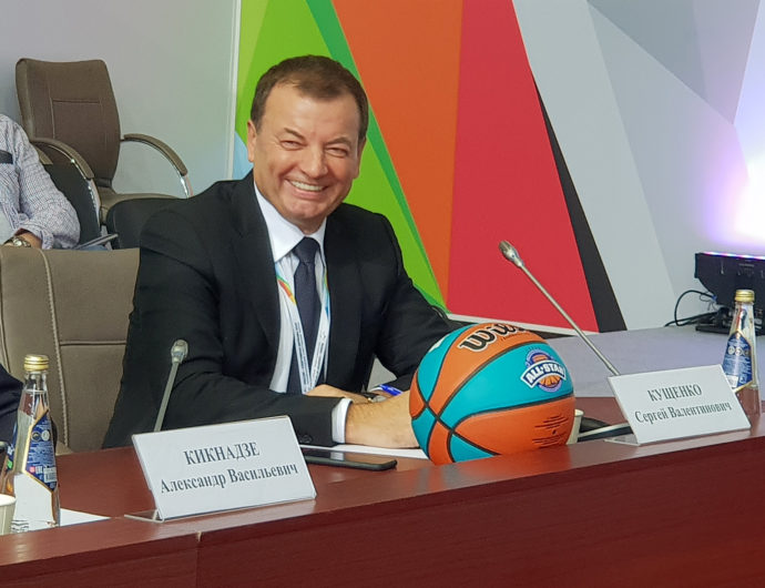 "Sergey Kushchenko Participates In International Sports Forum ""Russia: Sports Power"""