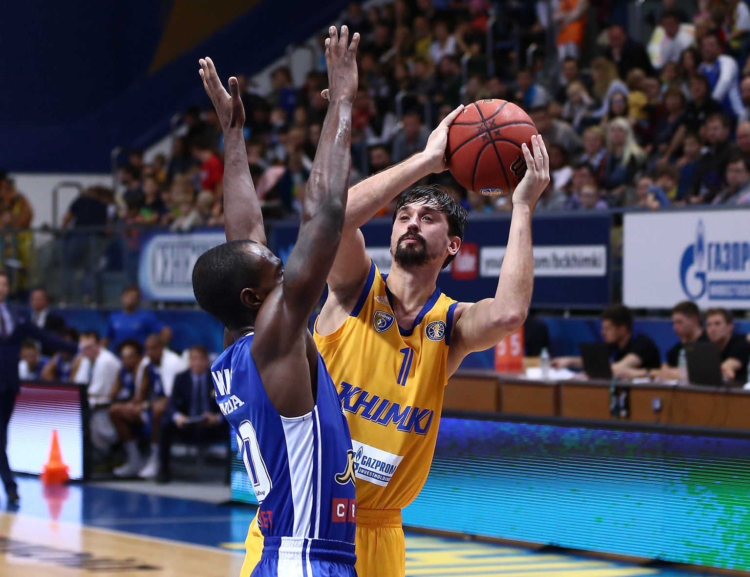 Khimki Defeats Kalev, Shved Makes History