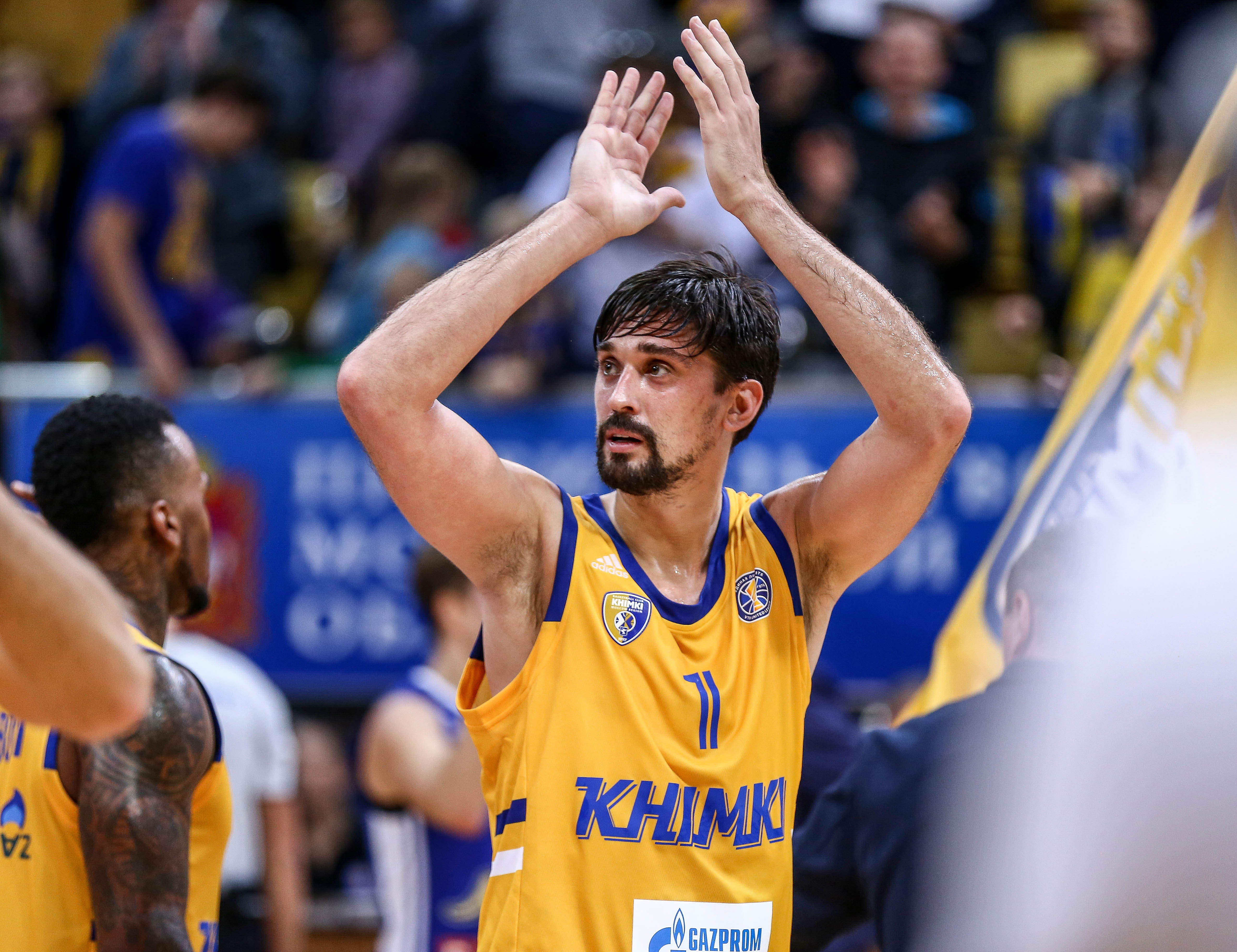 Alexey Shved Wins October MVP