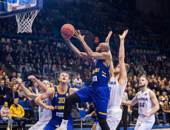 «Химки» побеждают в Перми без Шведа и Гилла
