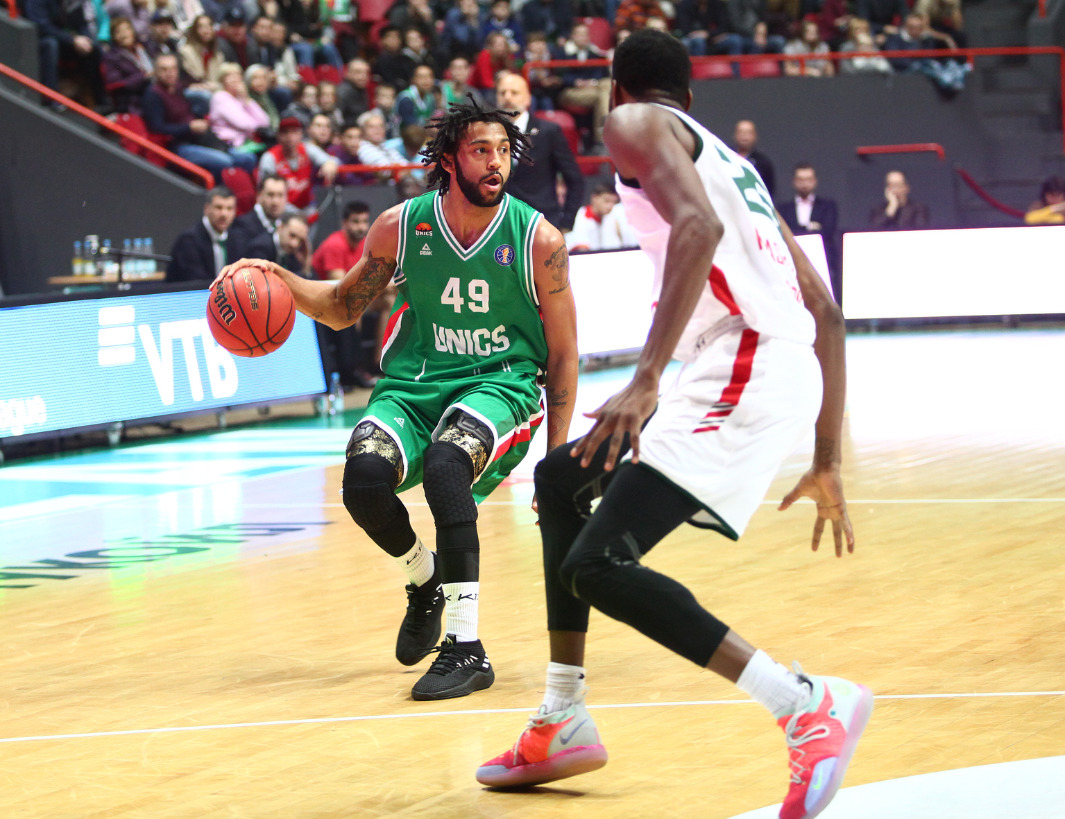UNICS Shuts Down Lokomotiv In Rivalry Win