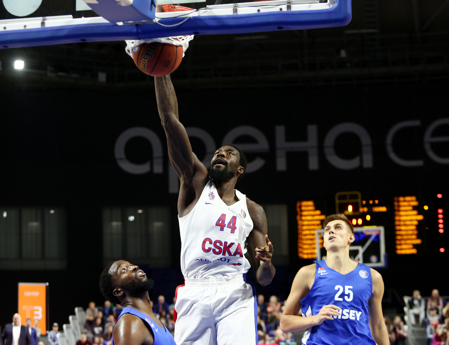 CSKA Opens Season With Win In Krasnoyarsk