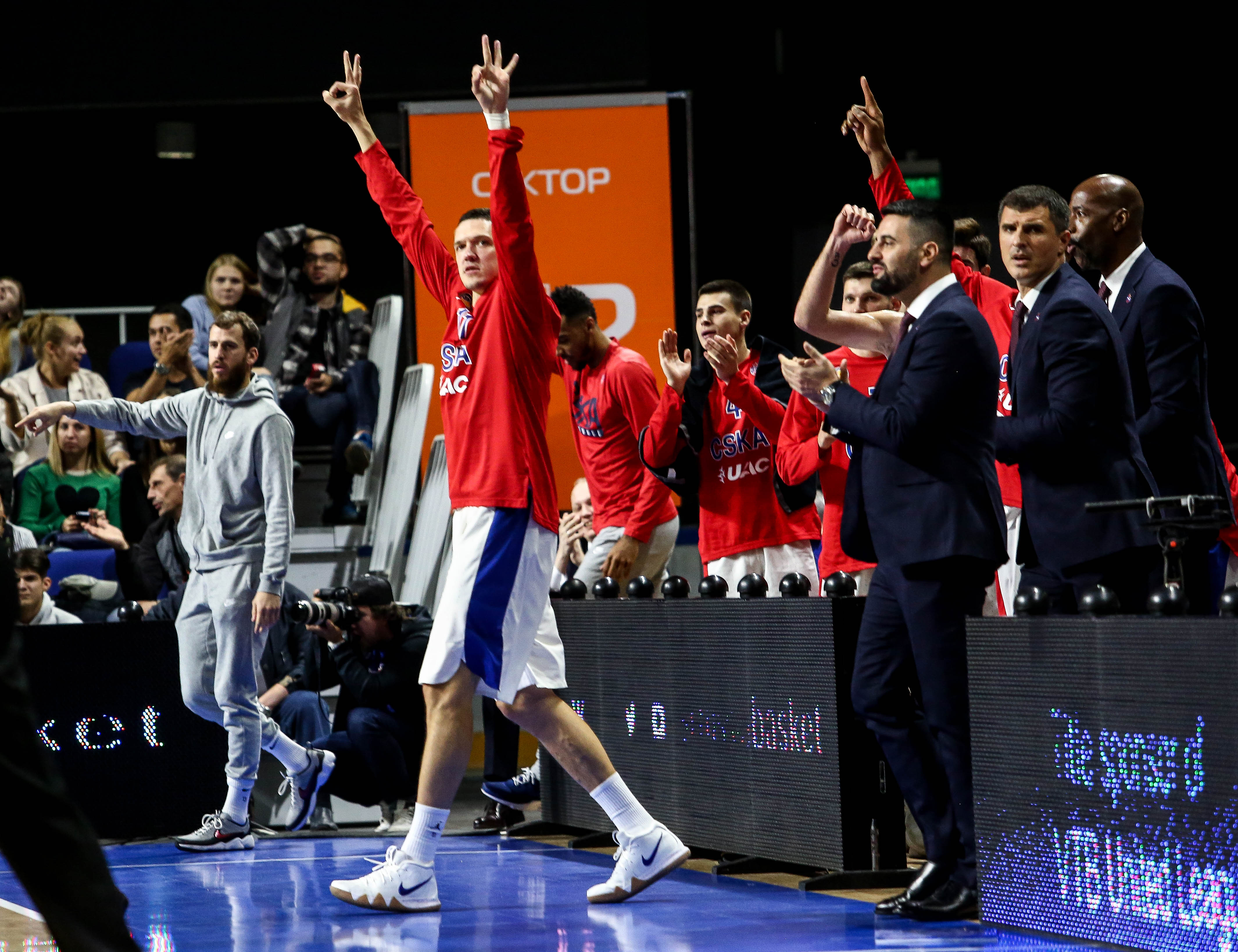Week In Review: +50 From CSKA, Zielona Gora Wins Debut And Shved In MVP Form