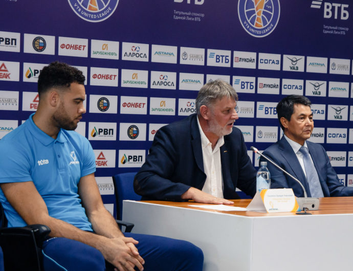 Astana Presents New Coach, Players Ahead Of Season Opener