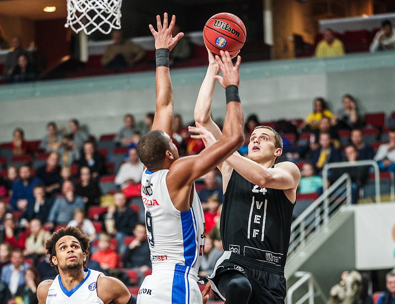 Первая победа ВЭФ — в прибалтийском дерби