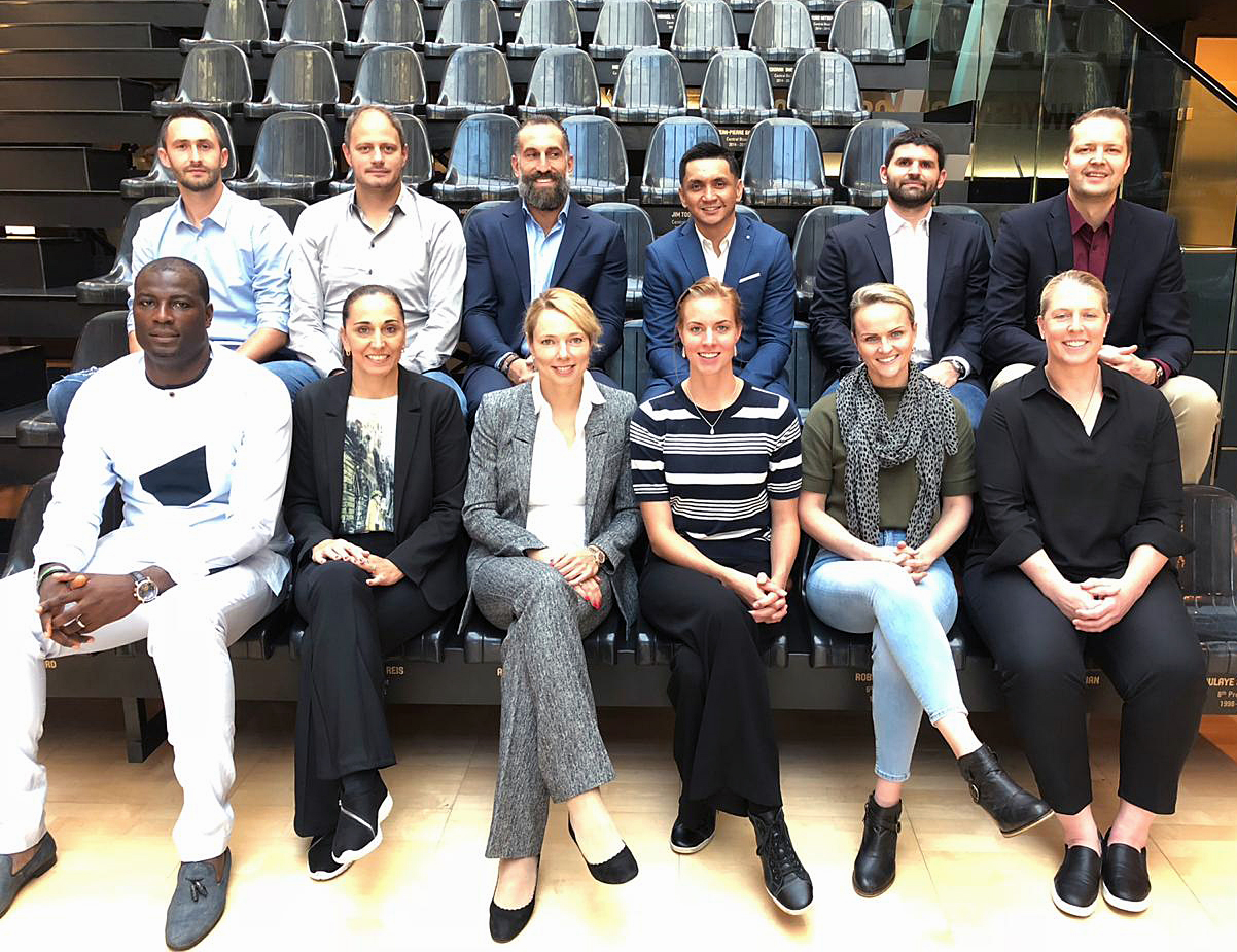 Илона Корстин приняла участие в собрании комиссии игроков ФИБА