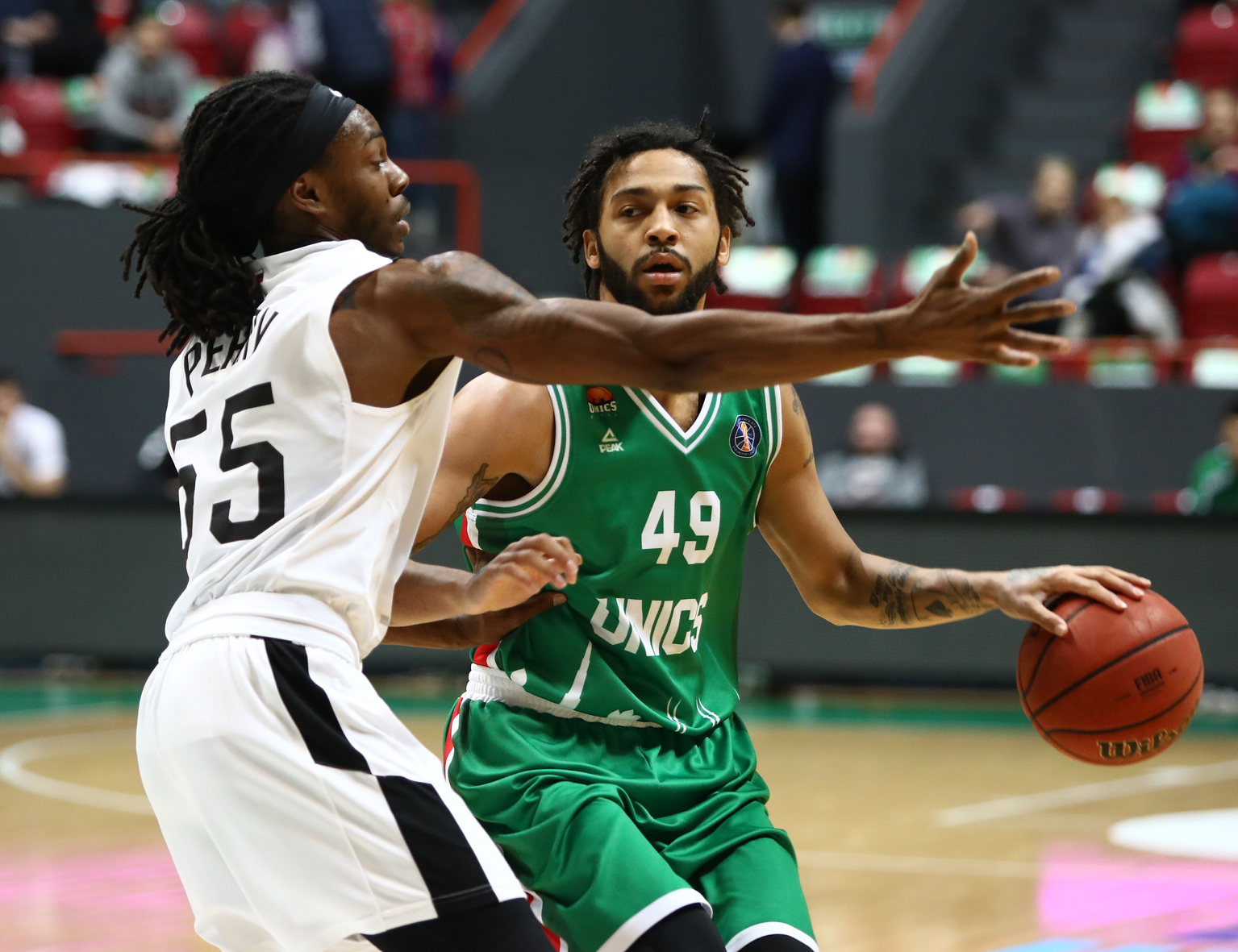 UNICS Crushes Nizhny With Defense