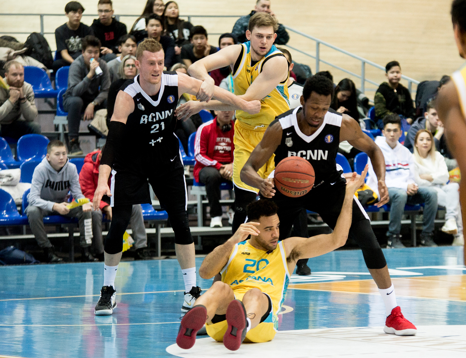 Nizhny Novgorod Knocks Off Astana