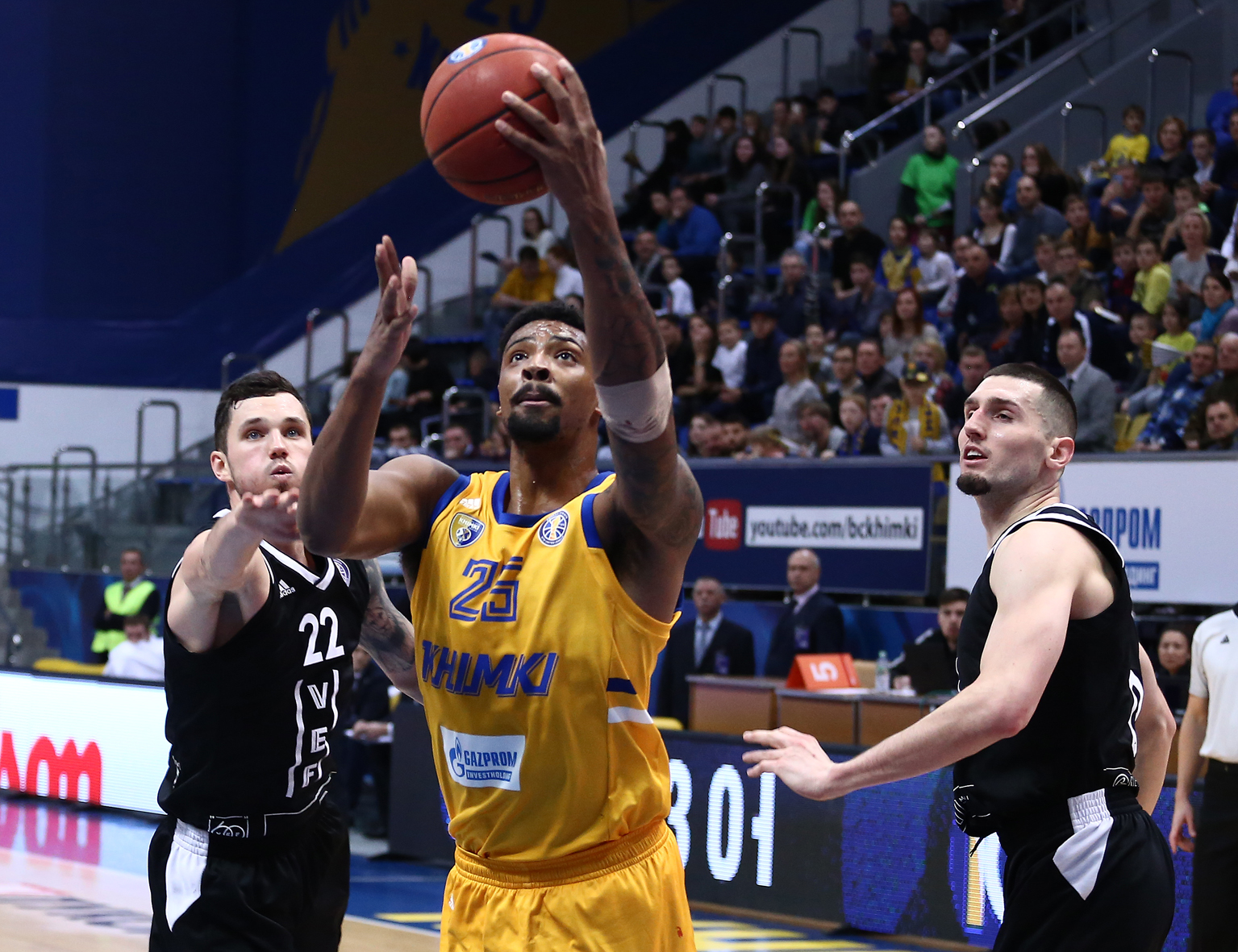 Khimki Cripples VEF's Offense, Ties CSKA For 1st Place