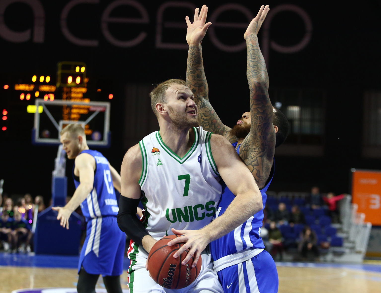 UNICS Takes Care Of Business In Krasnoyarsk