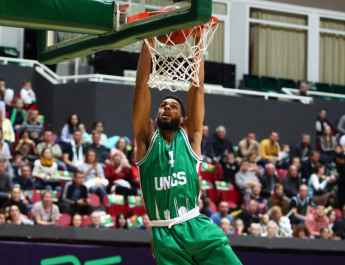 UNICS vs. VEF Highlights