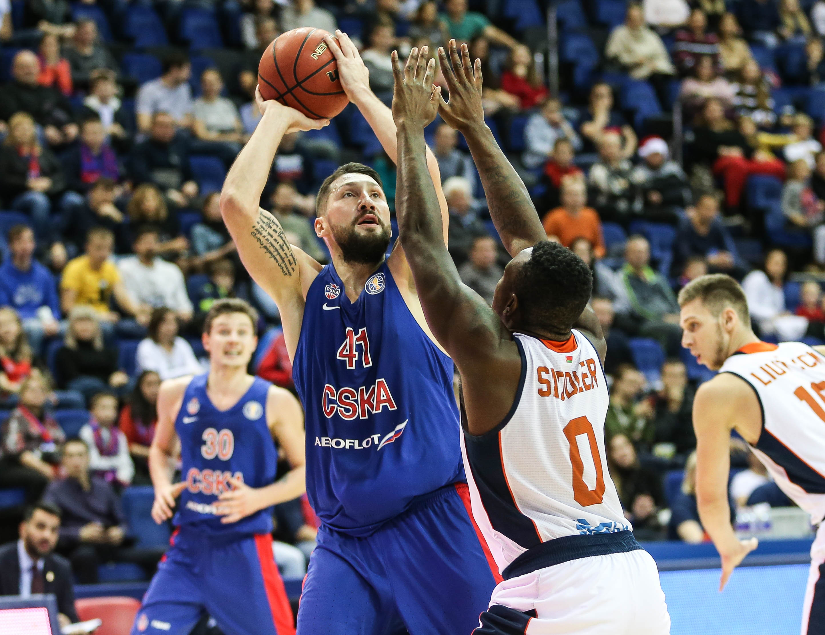 CSKA Scorches Dragons, Wins 8th Straight