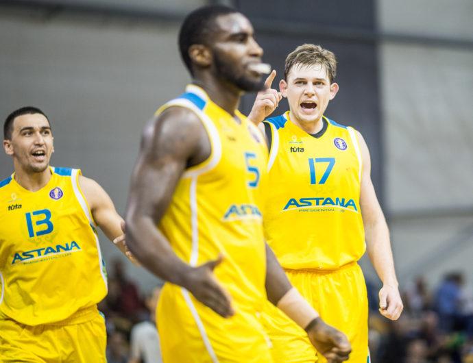ВЭФ – «Астана». Лучшие моменты