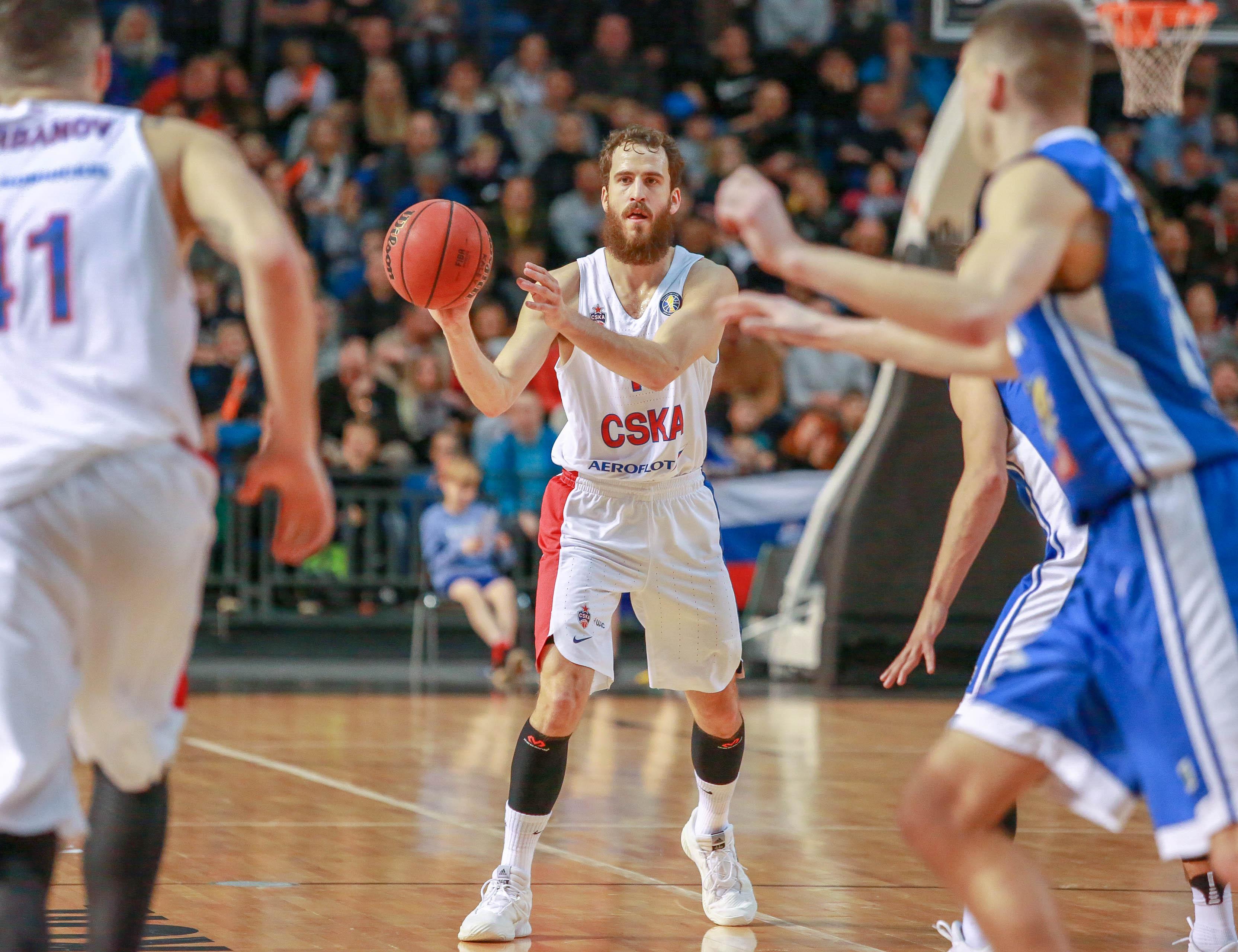 CSKA In Tallinn: Sold-Out Arena, Hard-Fought Win