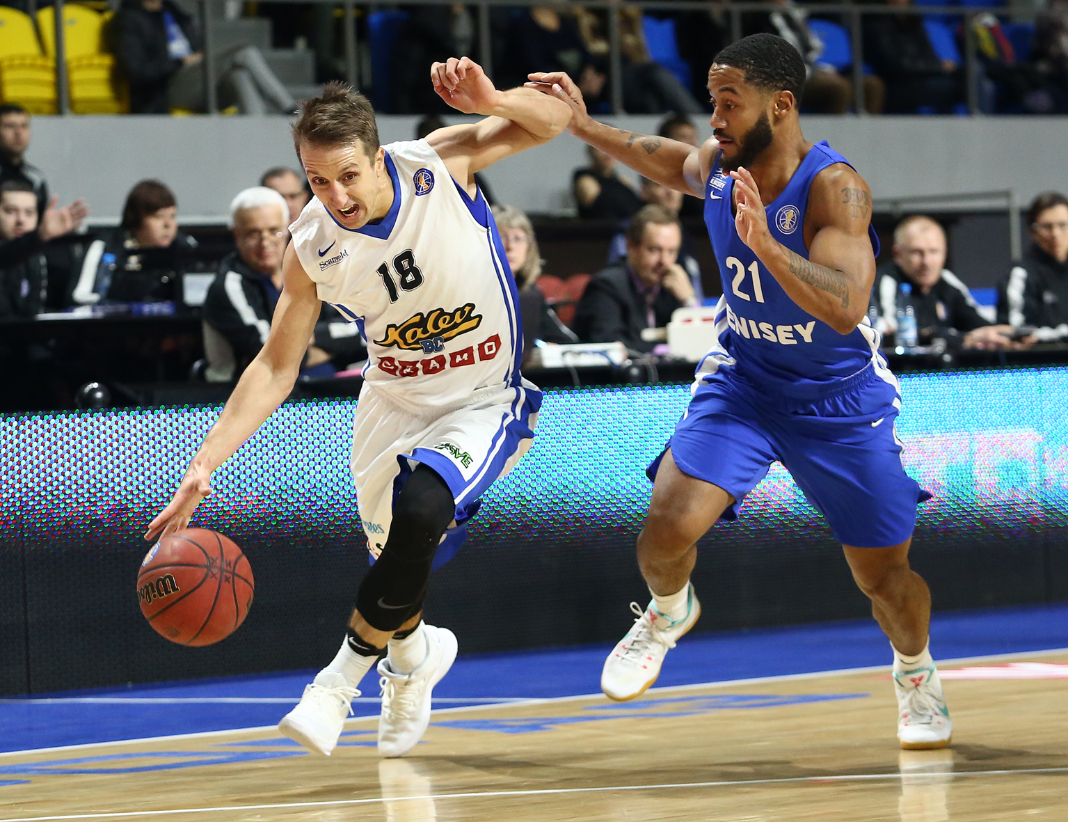 Kalev Beats Enisey In Battle For Top-8