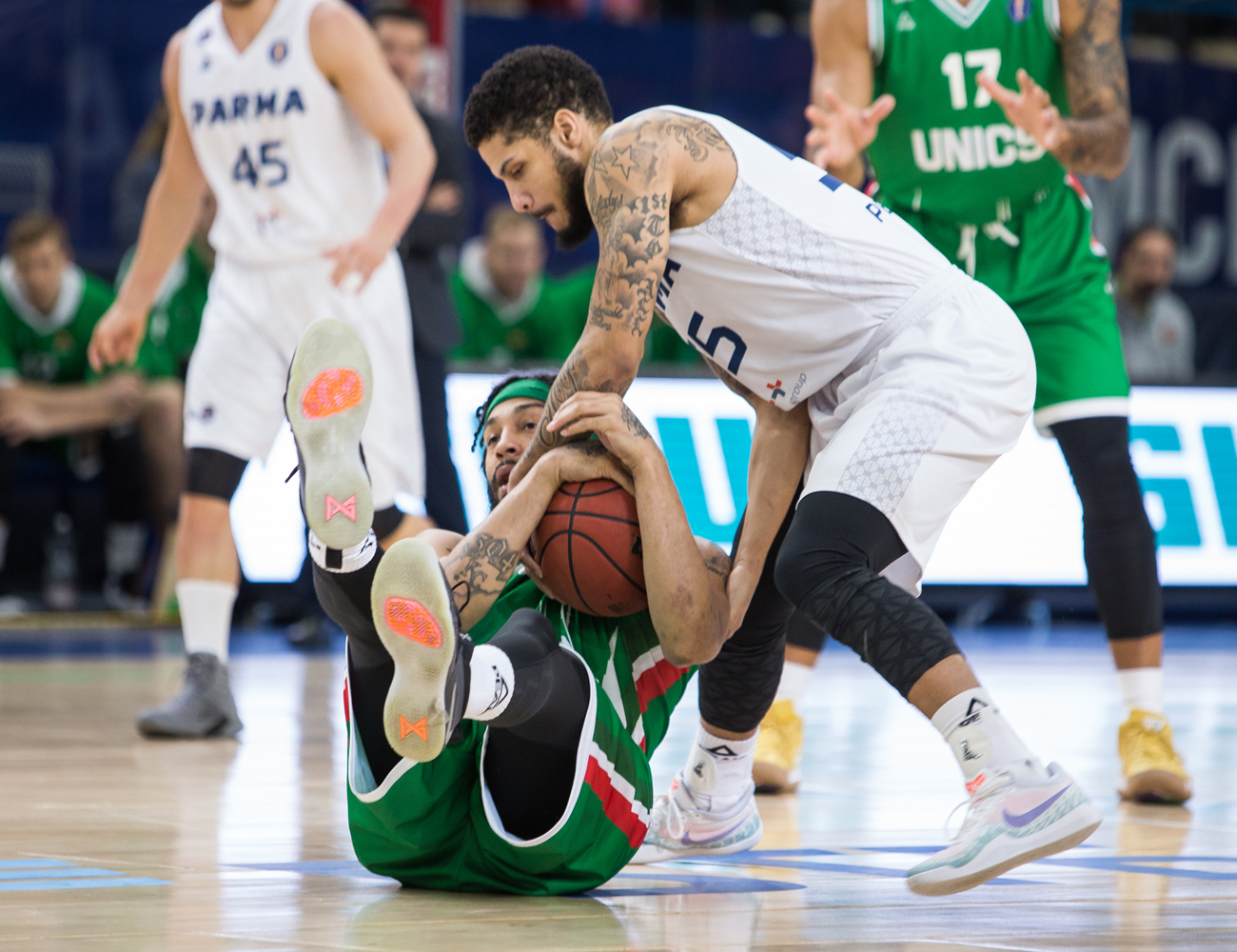 Justice Banks In Game-Winner, PARMA Stuns UNICS