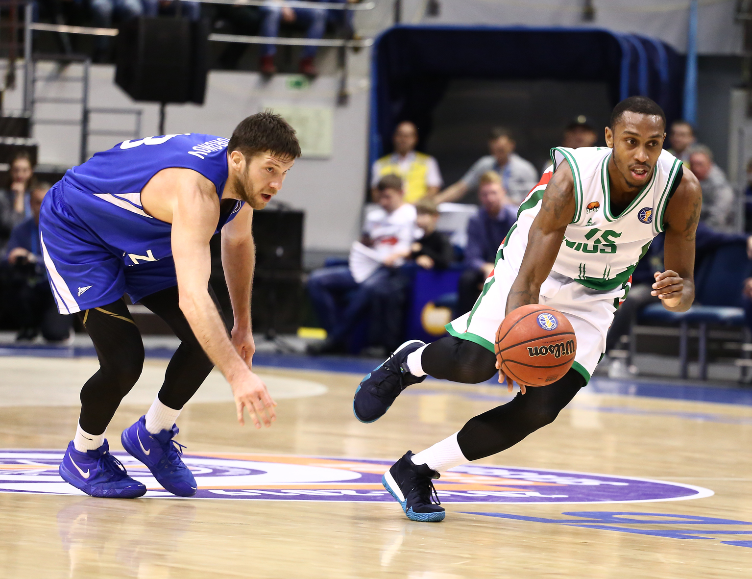 UNICS Escapes In St. Petersburg