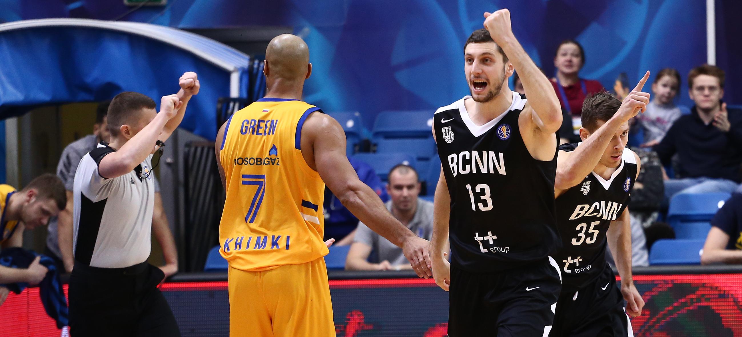 Nizhny Ends Khimki's Unbeaten Run