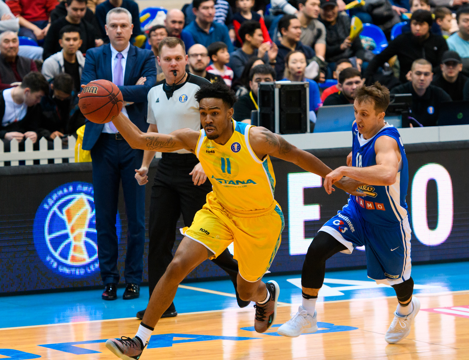 Astana Crushes Kalev For 6th Win