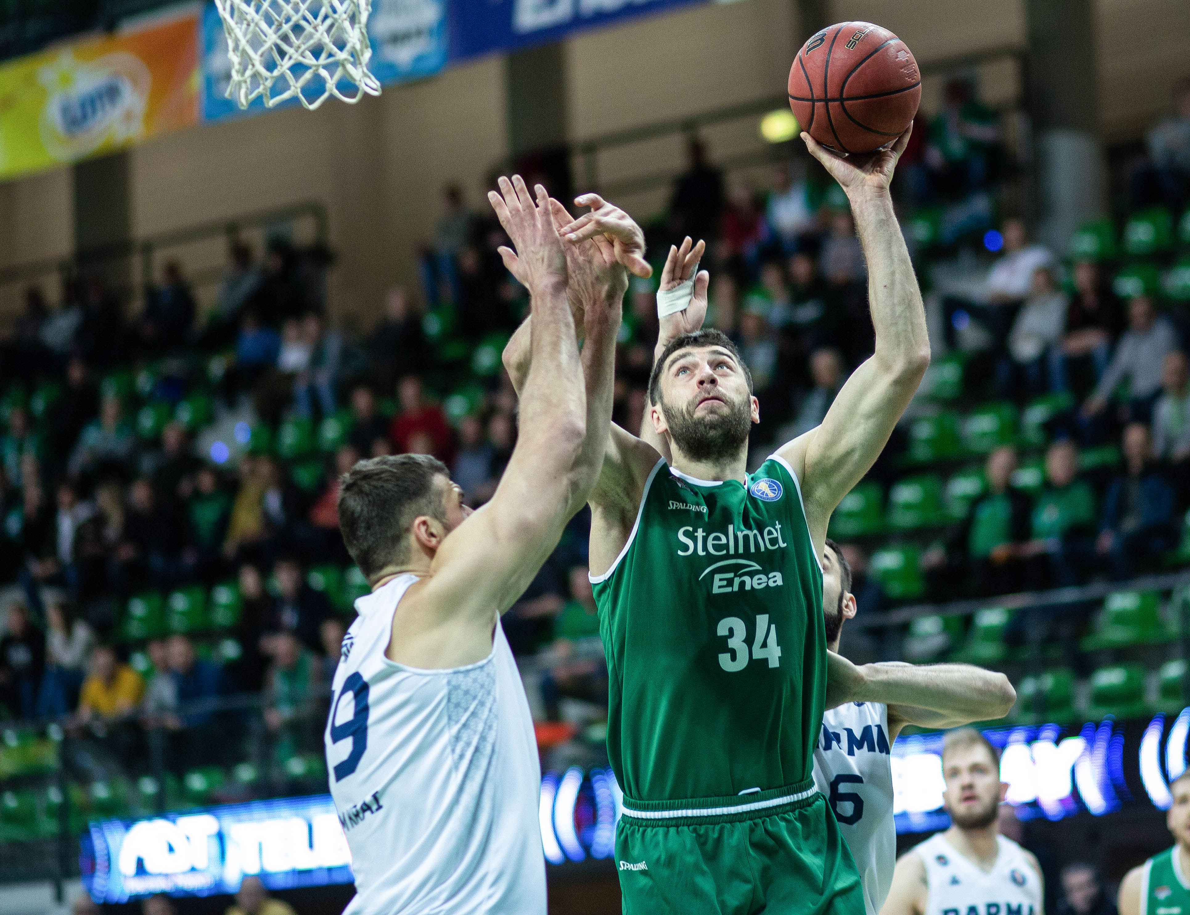 Zielona Gora Crushes PARMA To Snap 7-Game Skid