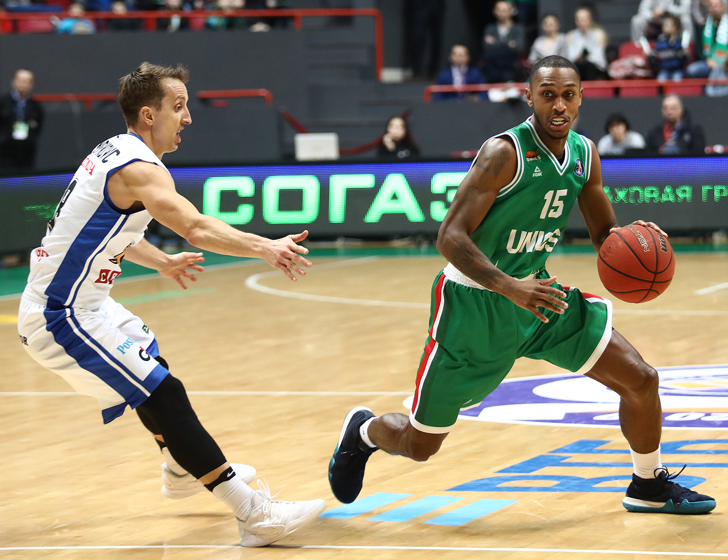 UNICS Escapes Again, Beats Kalev By Two