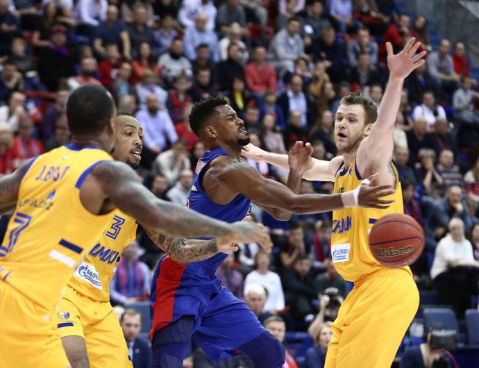 CSKA Solves Khimki, Tightens Grip On 1st