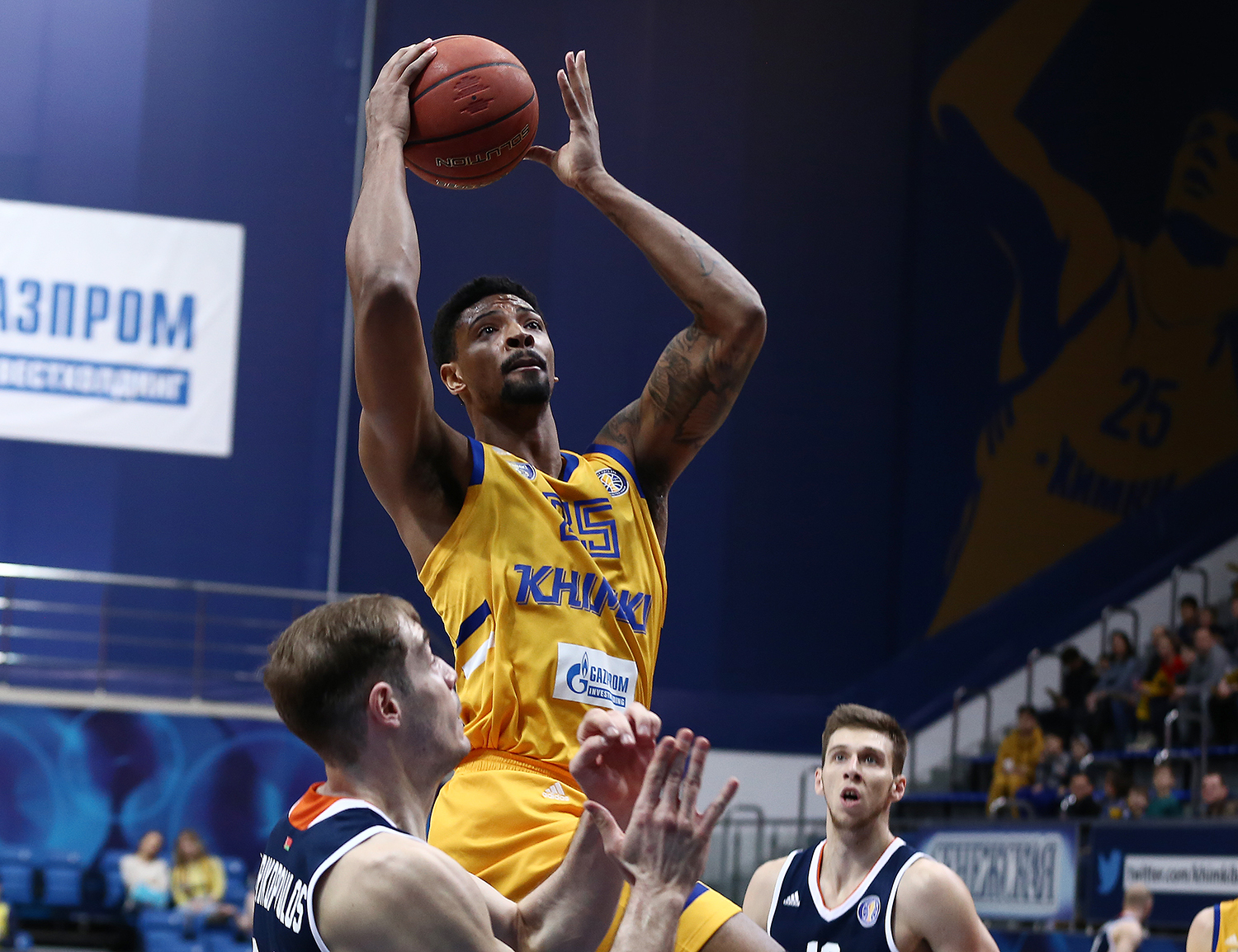 Khimki Pulls Away From Dragons
