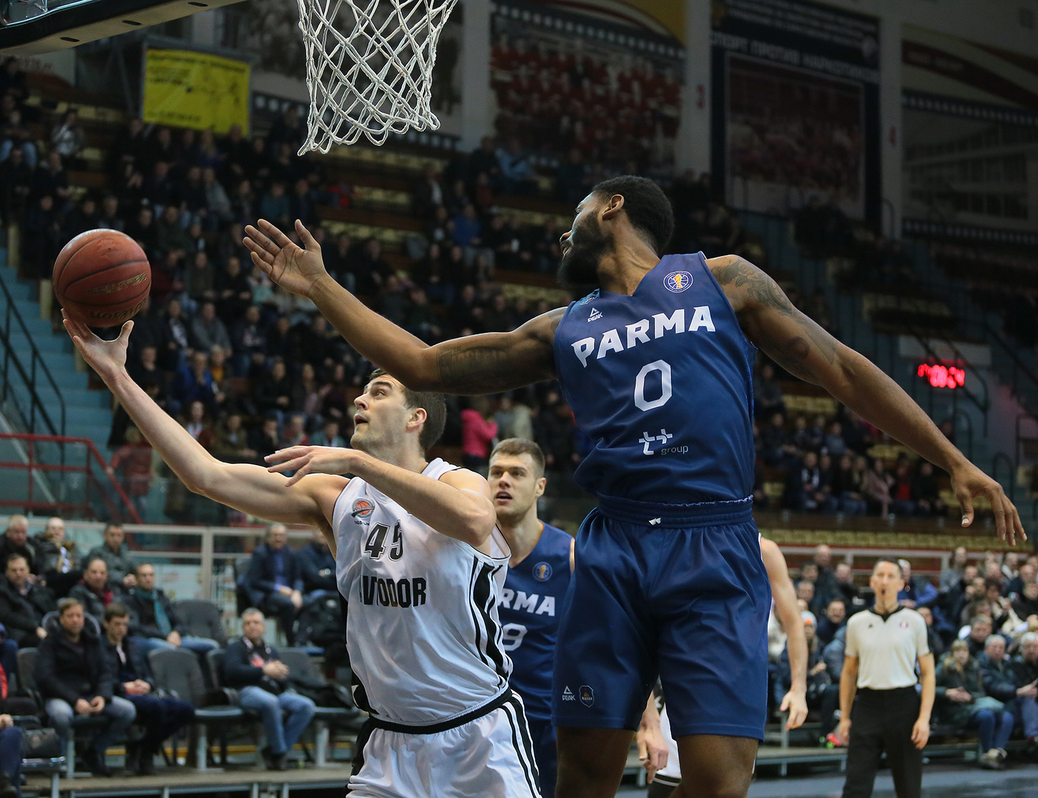 Avtodor Cruises vs. PARMA, Returns To .500