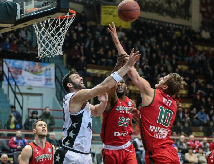 Lokomotiv-Kuban Drops Avtodor Behind Big 4th Quarter