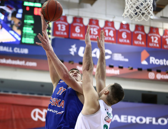 Zielona Gora Unable To Slow Down CSKA