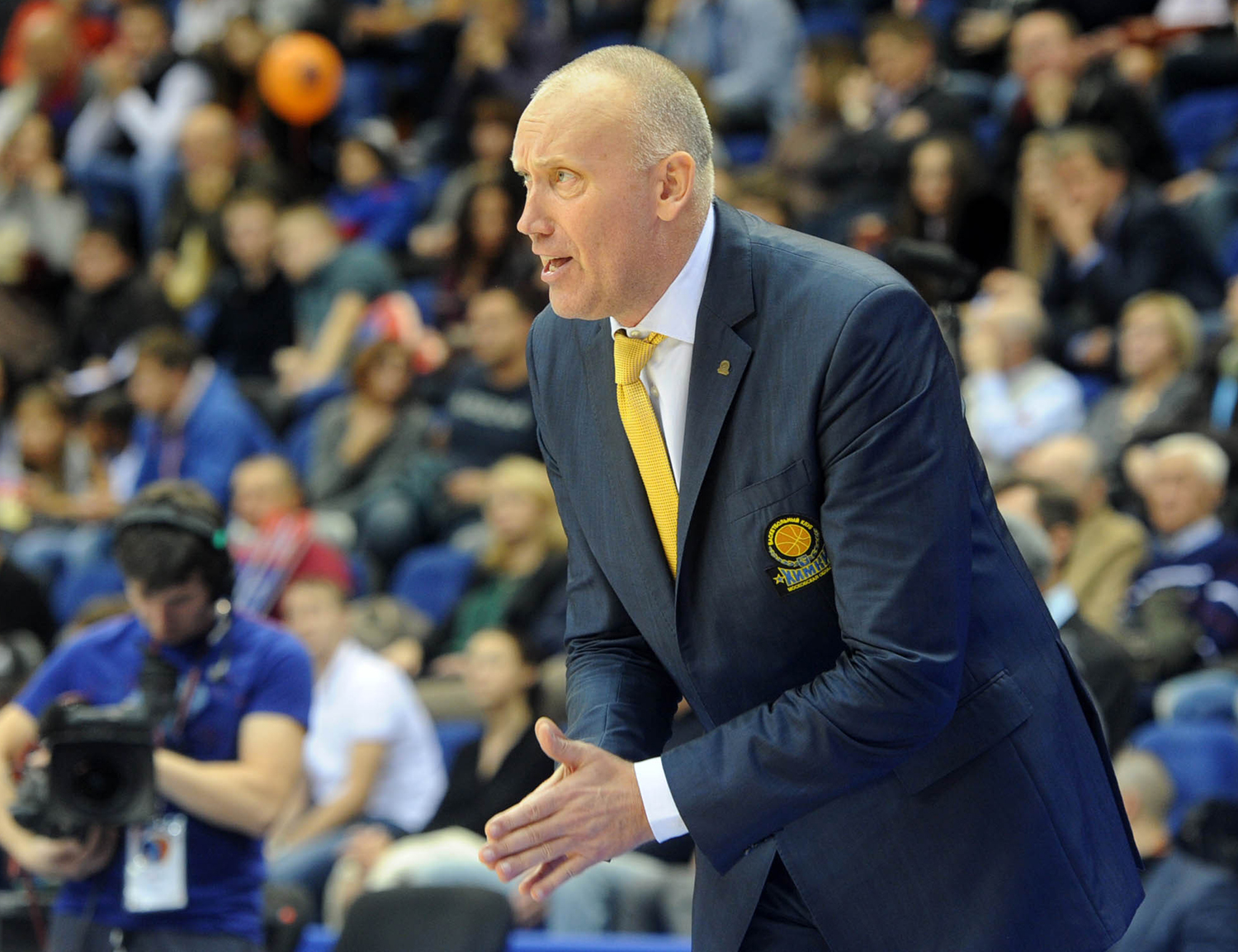 Rimas Kurtinaitis Returns To Khimki