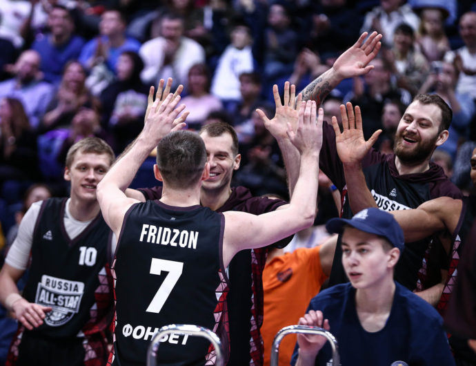 Moscow All-Star Game Emotions (VIDEO)