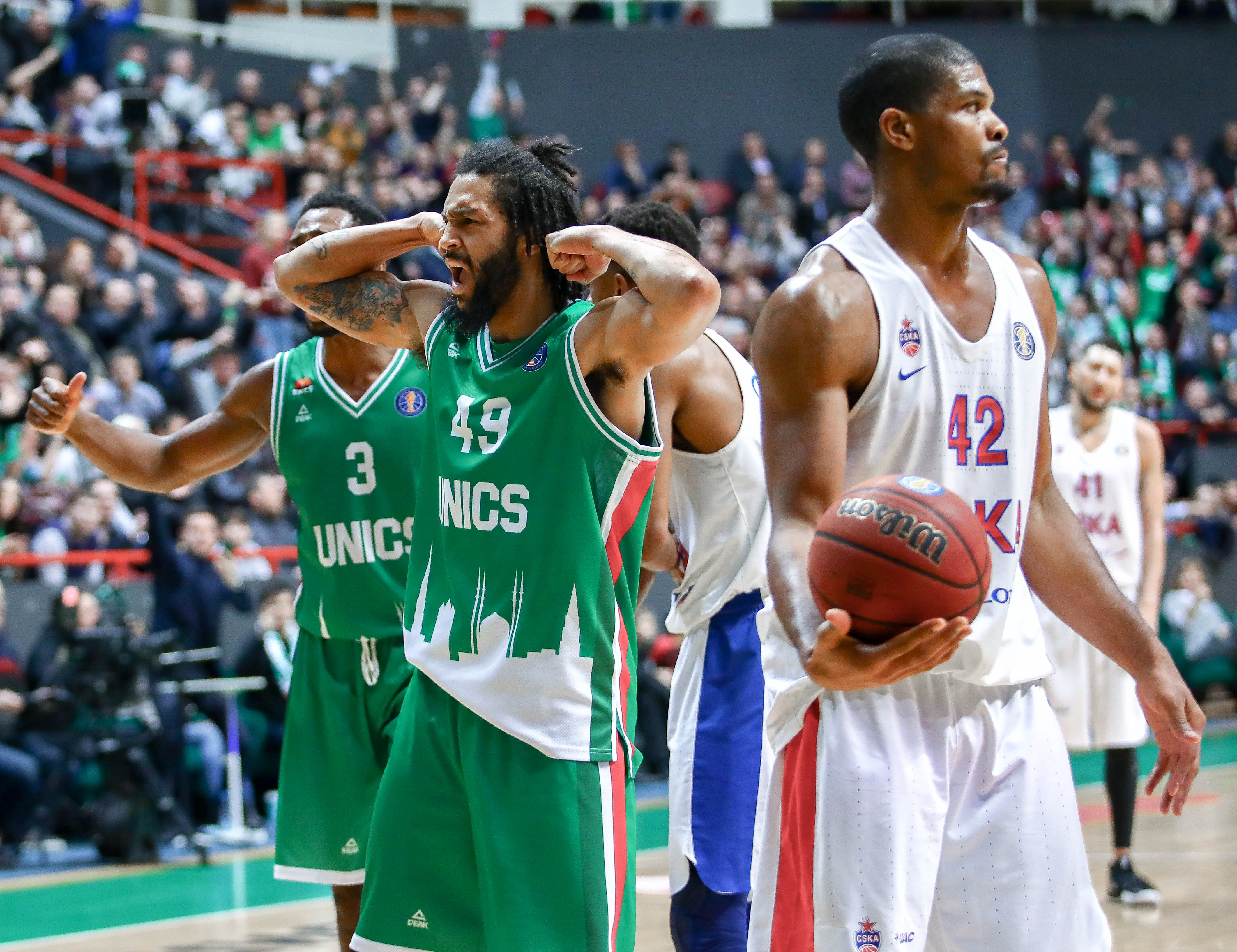 Week 17 In Review: UNICS Stops CSKA, Reynolds Warms Up For Dunk Contest, Astana On Track For Record Finish