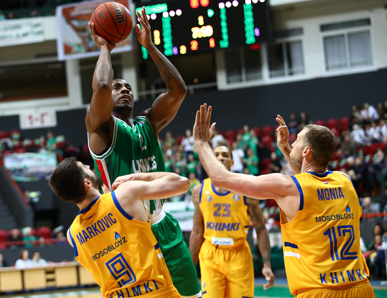 UNICS Dominates Khimki In Top-Three Showdown