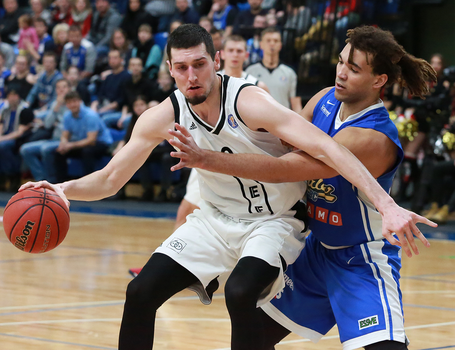 VEF Surprises Kalev On The Road