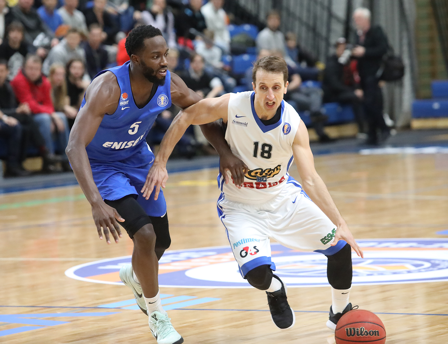 Kalev Beats Enisey In 8th-Place Showdown