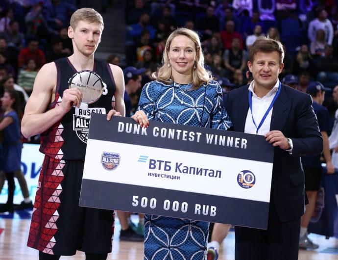 Viacheslav Zaitcev Wins Slam Dunk Contest