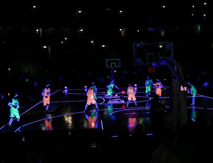 Inside Basketball In The Dark (VIDEO)