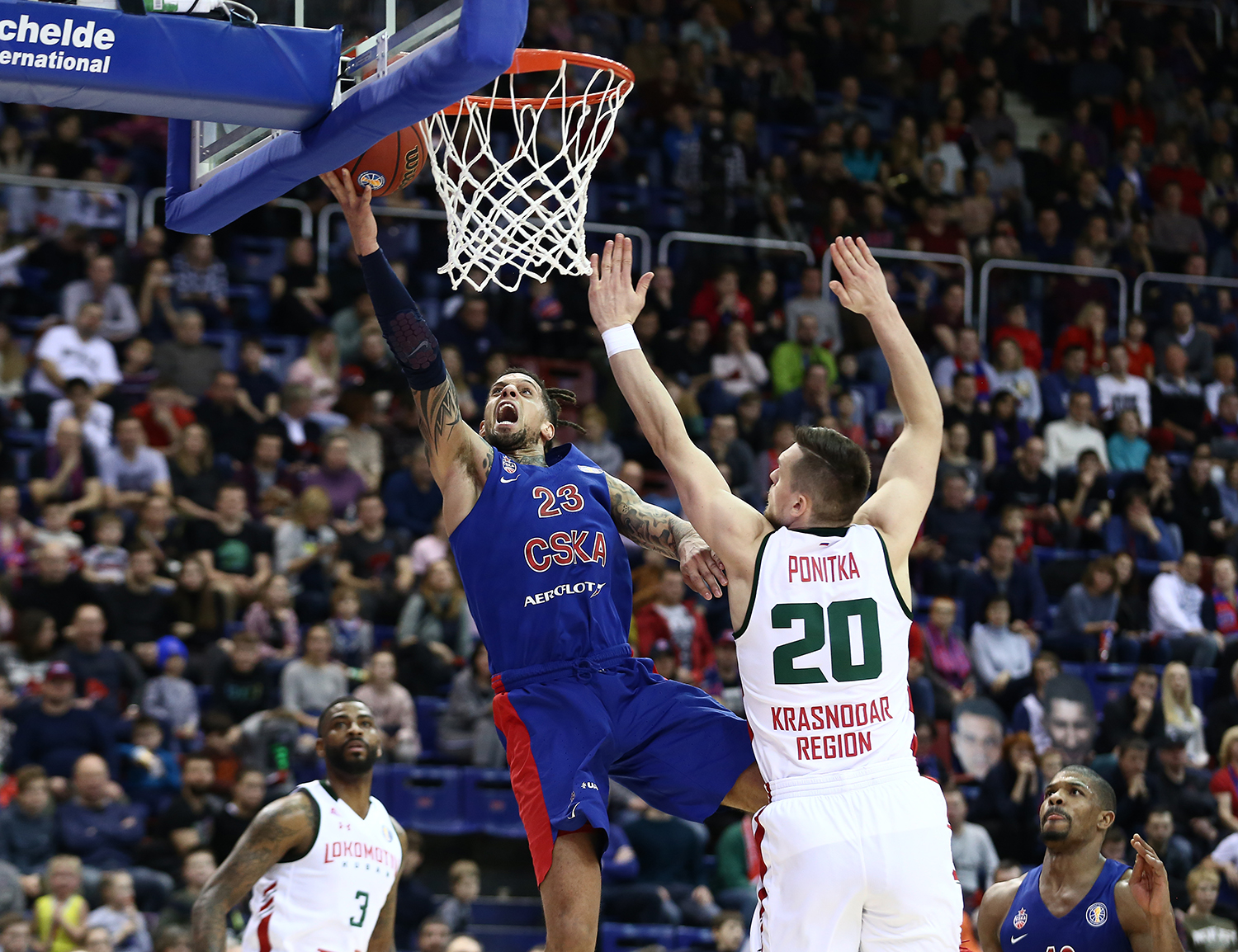 CSKA Stifles Loko, Hackett Stars In Crunch Time