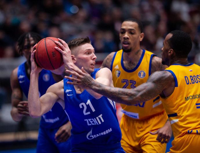 Zenit vs. Khimki Highlights