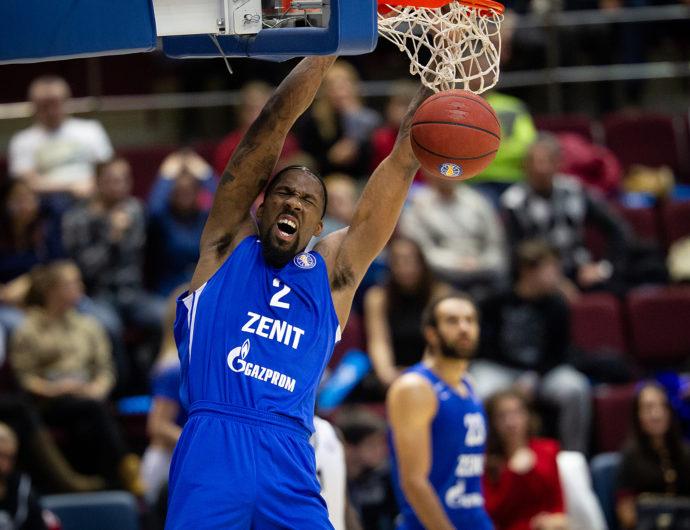 Zenit vs. VEF Highlights