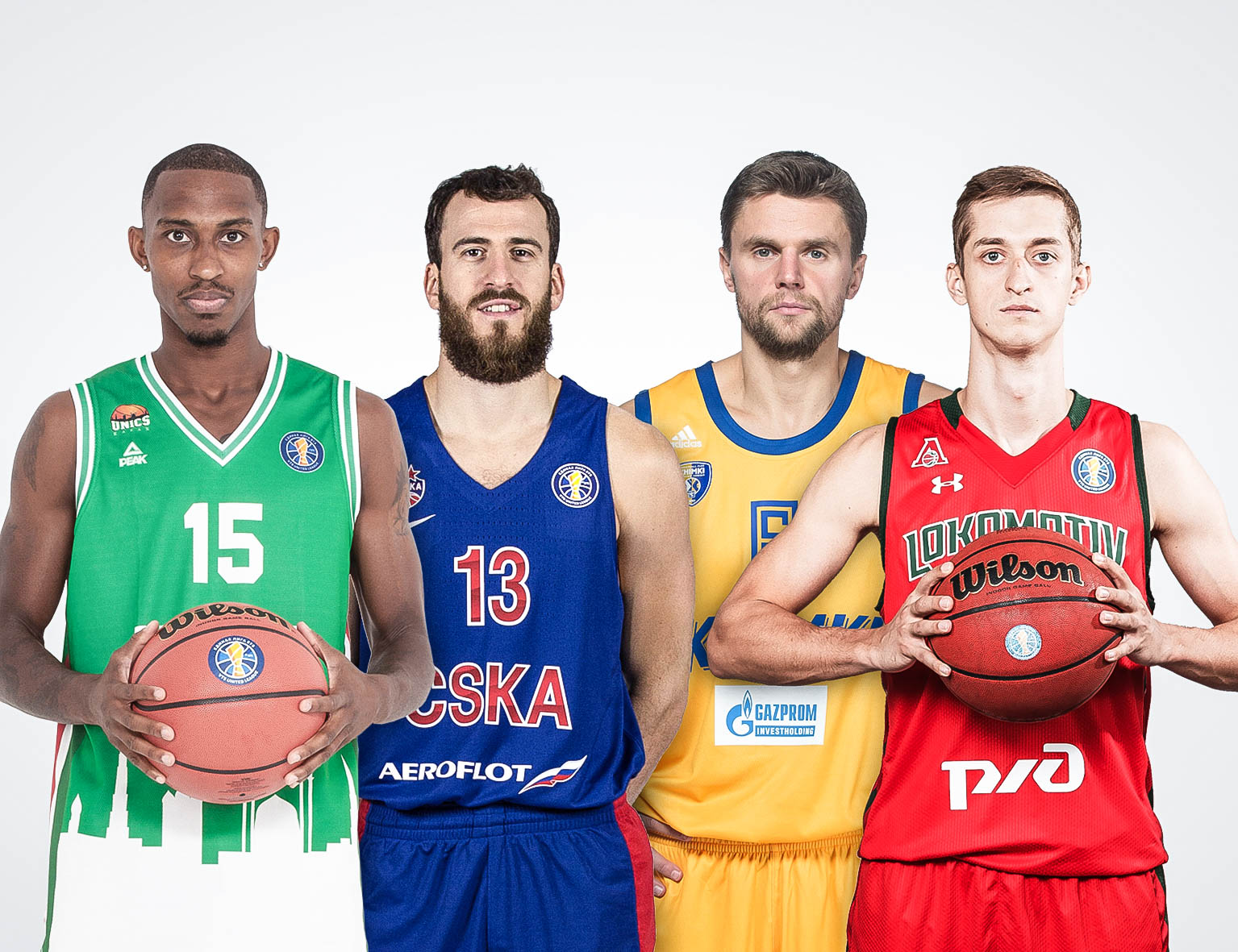 Fantastic Four: UNICS vs. CSKA, Khimki vs. Loko
