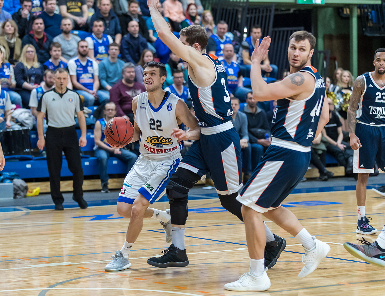 Kalev Buries Minsk, Now Tied For 8th Place