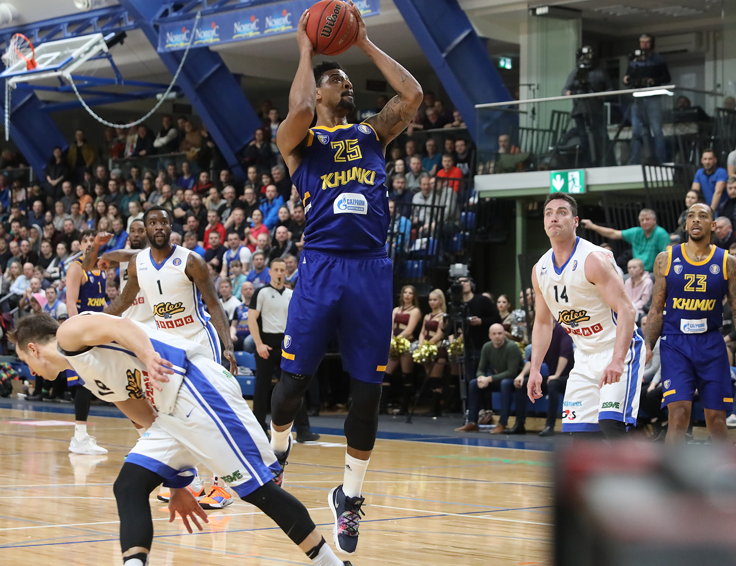 Khimki Crushes Kalev's Upset Hopes, Regains 3rd Place
